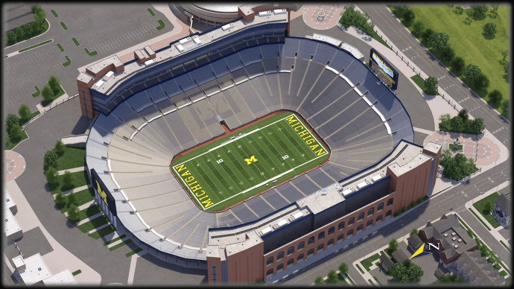 Michigan Football Seating Chart Di 2020