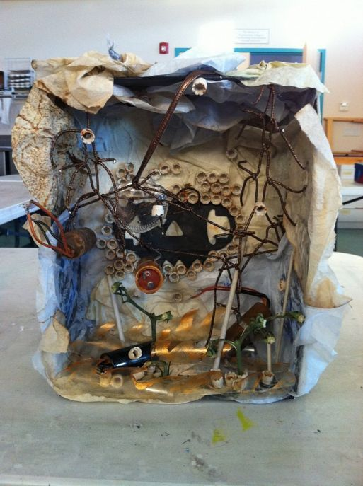 Shadow Box Current Trends In Art Therapy Winter 2013 At Swc