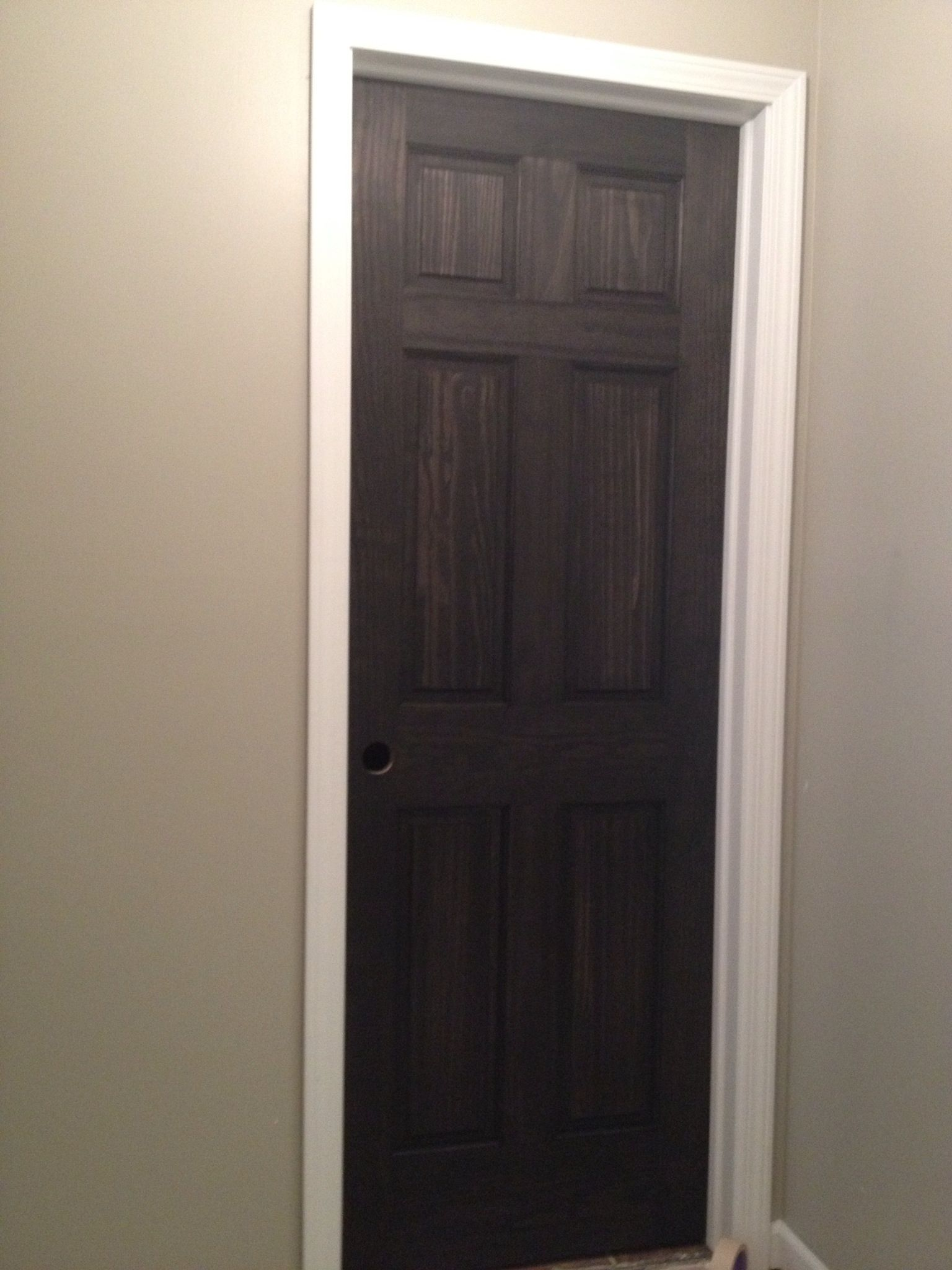 Black Stained Doors Stained Doors Front Door Curtains Tall Cabinet Storage