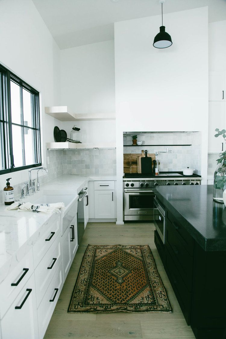 Lafayette White Kitchen Island With Granite Top
