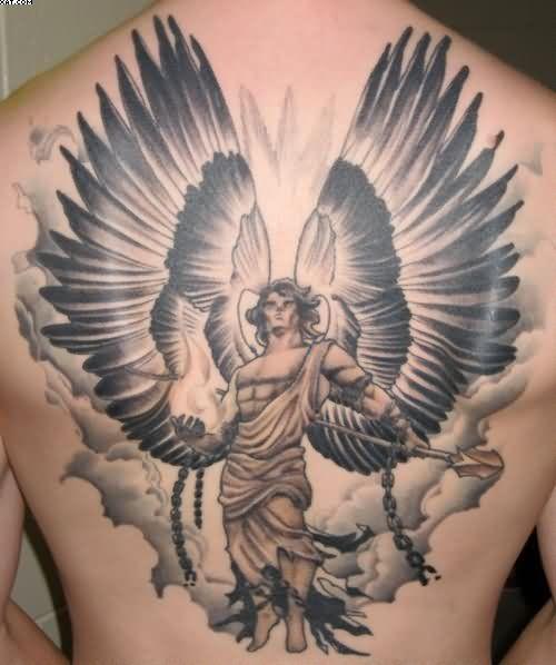 Tatuagem De Anjo Para Homens 2 Tatuagem De Anjo Guerreiro