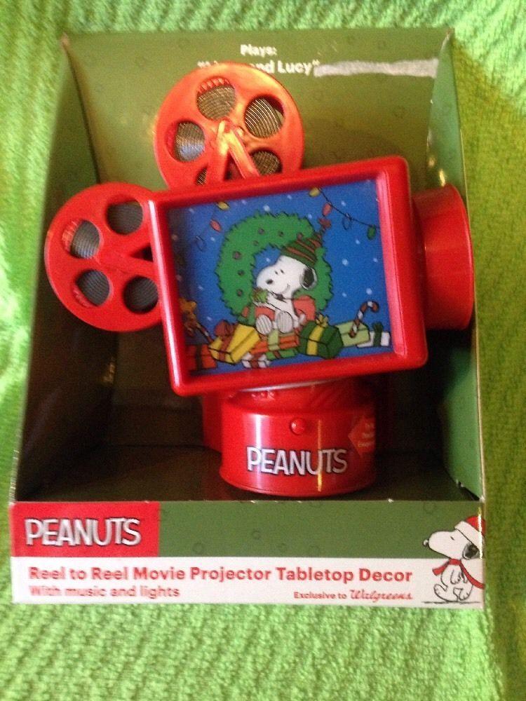 peanuts animated ornamentchristmas snoopy walgreens