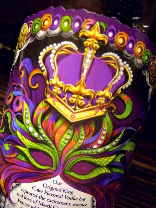 King Cake Vodka at www.mountainofcrushedice.com