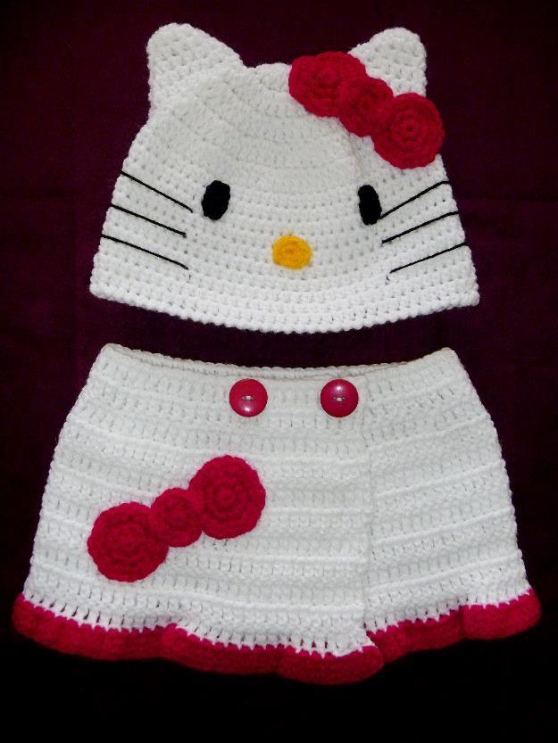 Gorro disfraz tejido Bebé niño o niña Minion, Micky, Mimi, Winnie ...