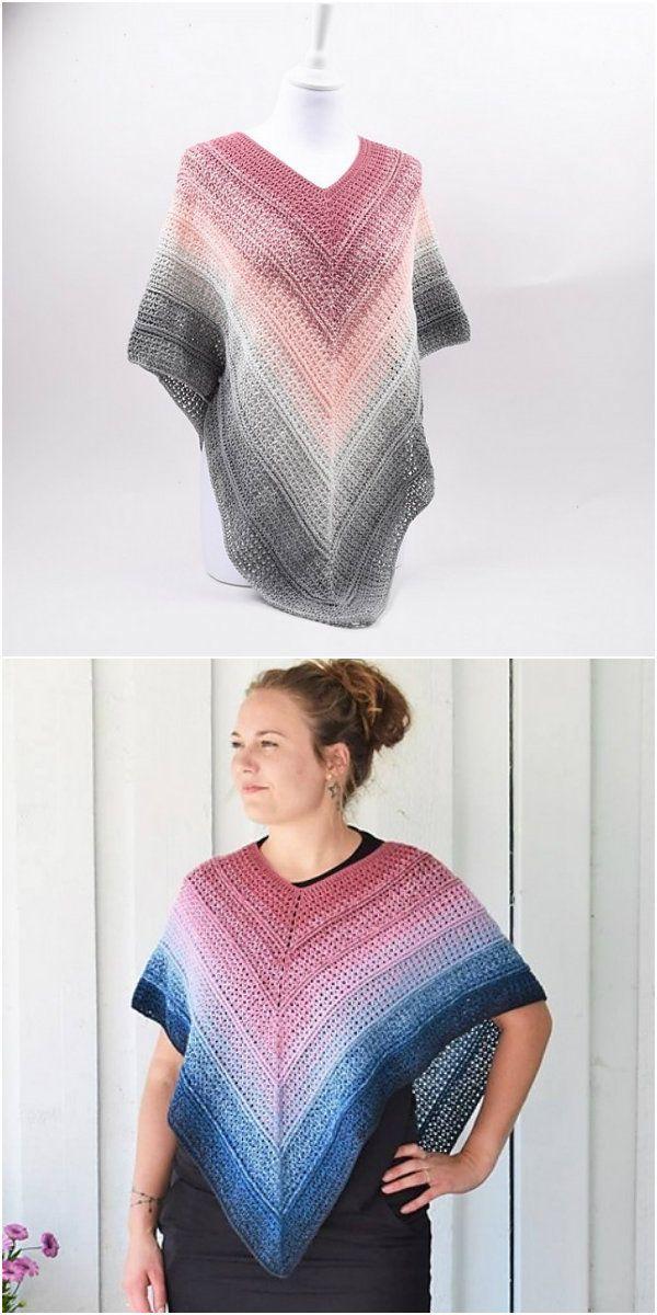 Timeless Poncho Free Crochet Pattern | crochet Stella | Pinterest ...
