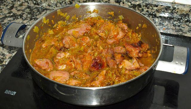Cocinar es vivir y Bordar también: Pavo guisado a la naranja / Orange turkey