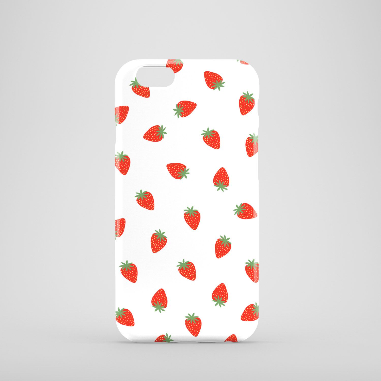A personal favorite from my Etsy shop https://www.etsy.com/listing/237040123/small-strawberries-phone-case-cute-phone