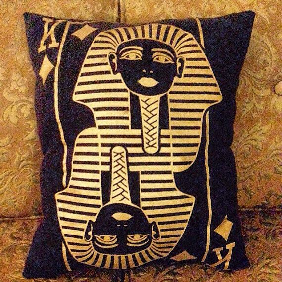 King pillow by PerfectlyPlumpy on Etsy