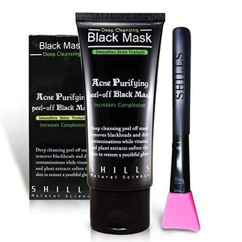 Photo of 7. SHILLS Black Mask, Peel Off Mask, Blackhead Remover Mask,…