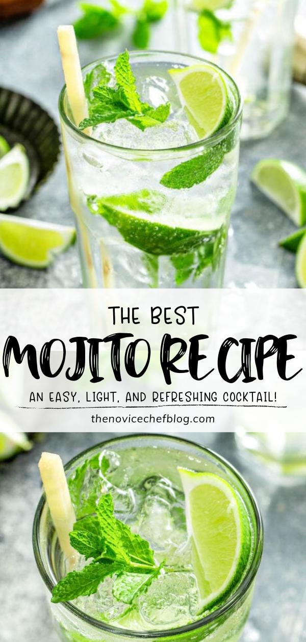 The Best Mojito Recipe Best Mojito Recipe Mojito Recipe Alcohol Drink Recipes