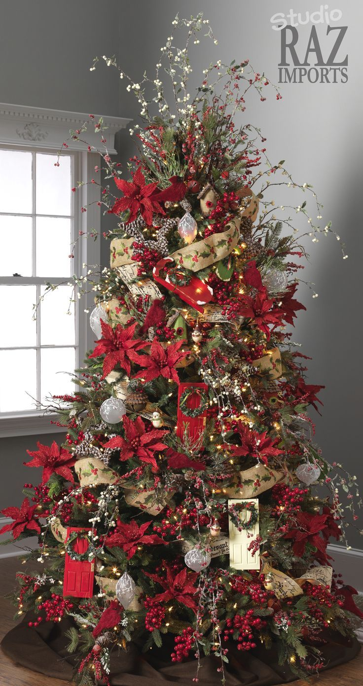 decorated xmas trees (With images) | Beautiful christmas ...