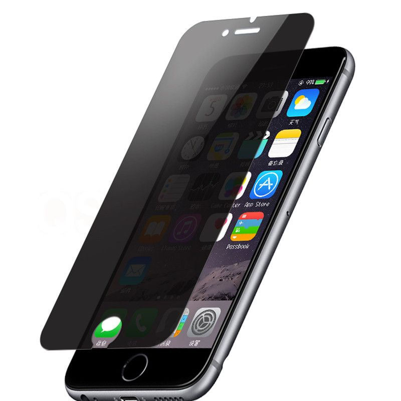 Anti spy privacy screen protector tempered glass film for