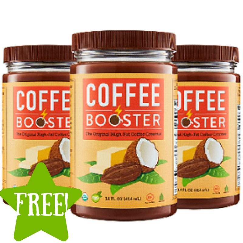 Free coffee booster sample free food coffee cravings