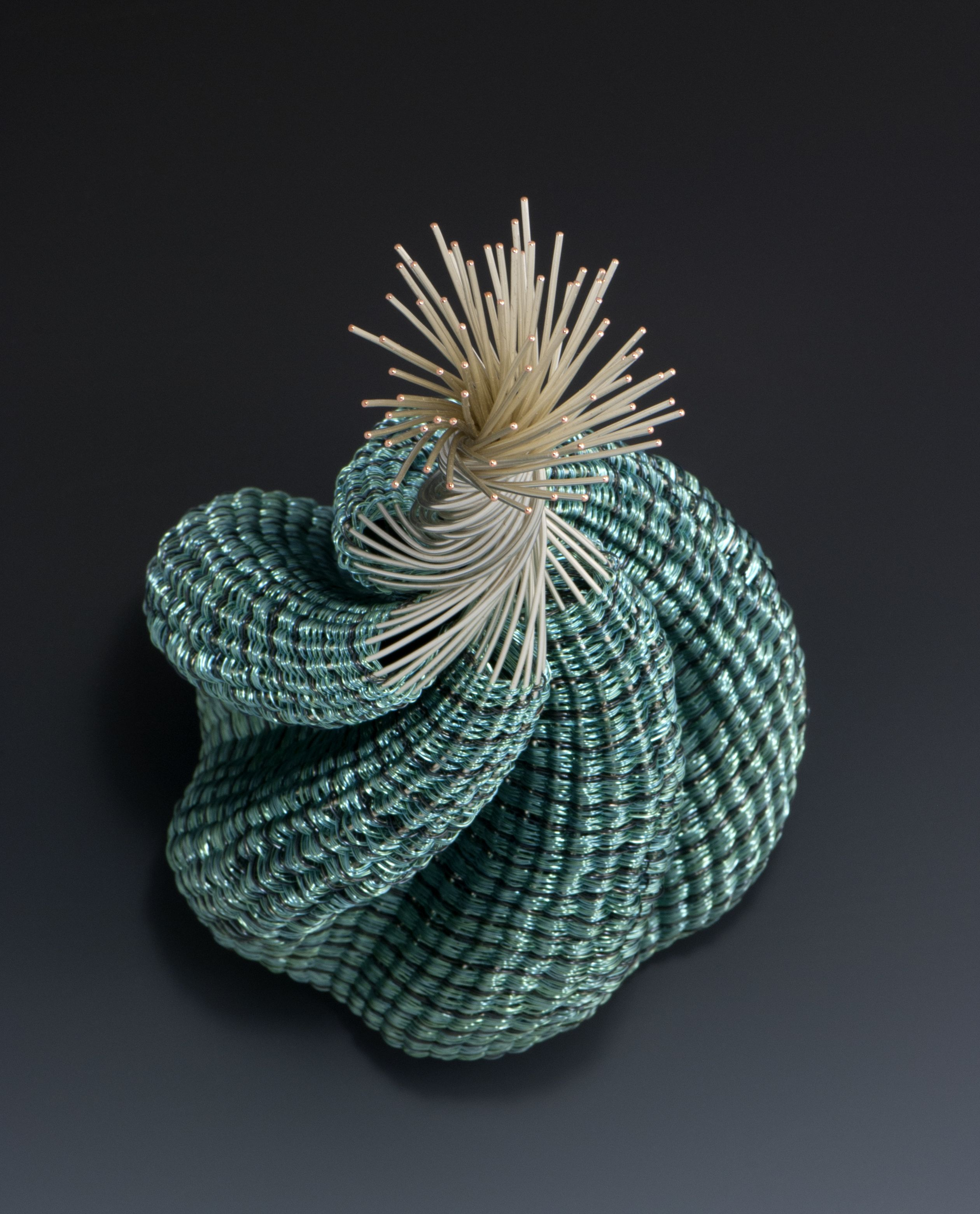 Rising; sculptural wire basketry; 2016; Sharon Stafford Metals | My ...