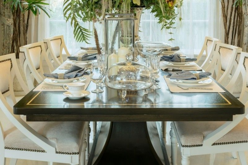 Good Formal Dining Room Table Setting Ideas Part - 2: Room · Elegant Semi Formal Six Place Setting Dining ...