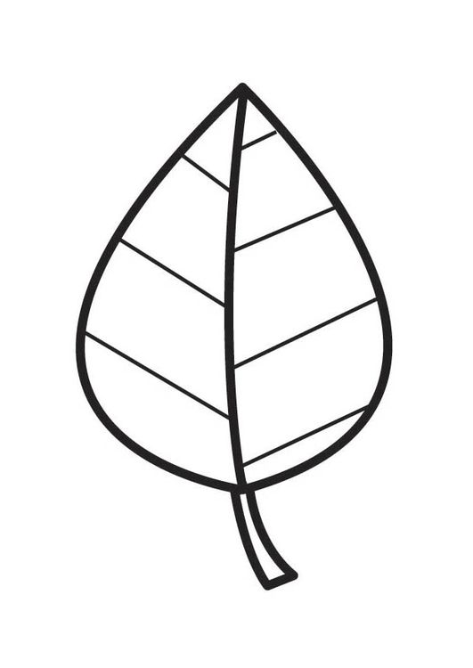 Kleurplaten Herfstbladeren.Kleurplaat Blad Ideetjes Voor Kleuters Kreativ