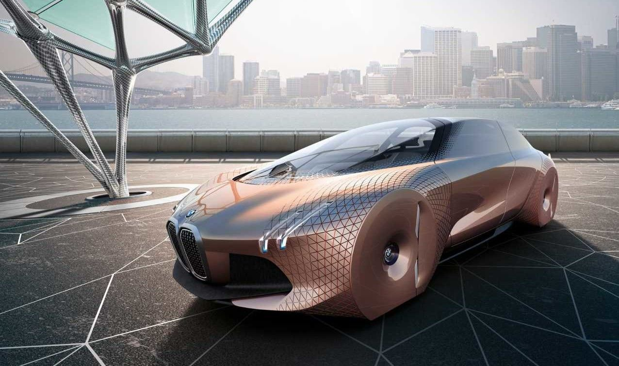 Bmw Envisions Future With Vision Next 100 Concept Bmw Car Concept Cars