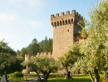 CASTELLO DI AMOROSA (Calistoga, CA) is an authentically-styled, 13th century, Tuscan castle and winery.  Tours are led by a knowledgeable guide. All tours feature a barrel tasting, and include a complimentary tasting of their current releases.