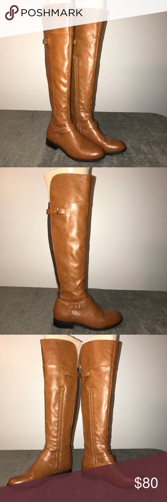 0f62ae40bb7 Bar III Daphne Banana Bread Over the Knee Boots Brand New without box. Bar  III Shoes Over the Knee Boots