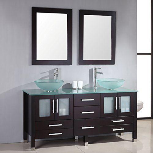 418OuMHIHeLjpg (500×500) casa Pinterest Bathroom double