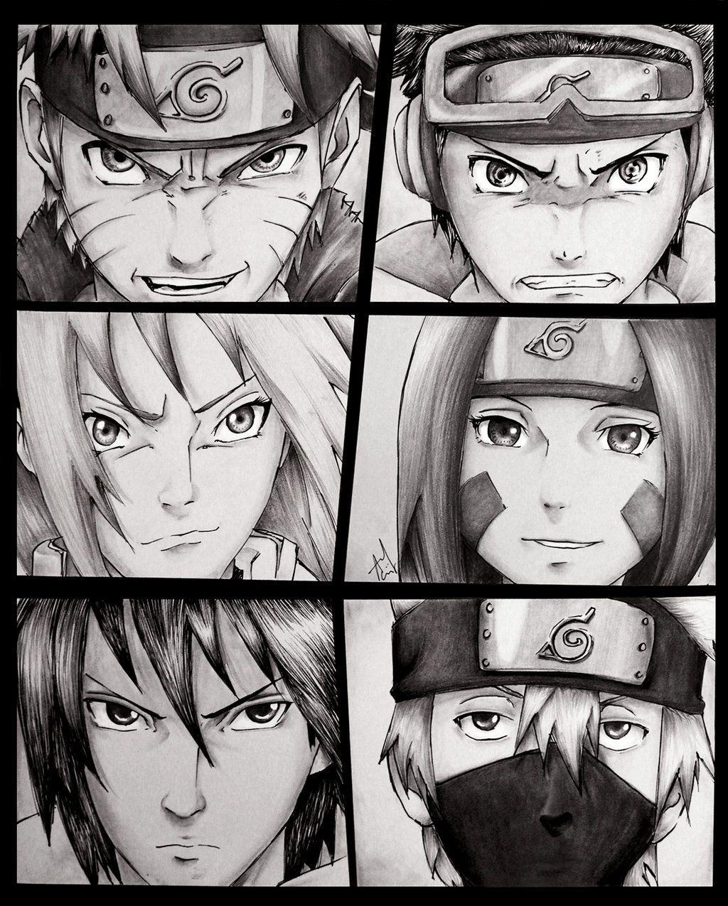 Naruto uzumake obito uchiha sakura haruno rin sasuke uchiha kakashi hatake