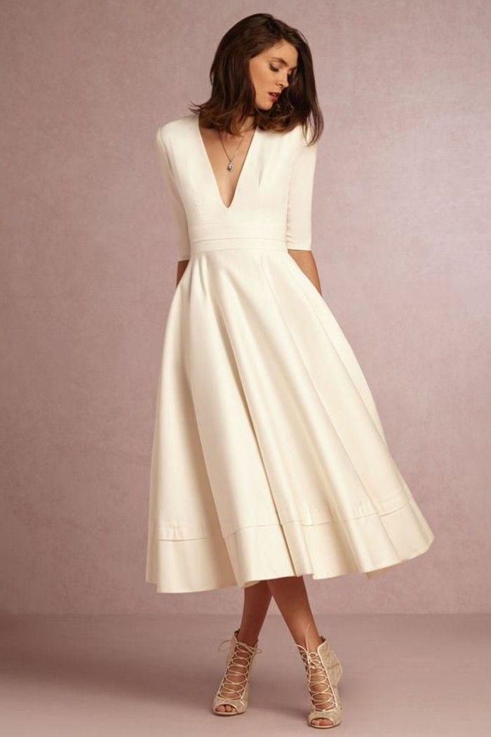 105 verblüffende Ideen für weißes Kleid! | Pinterest | Damenkleider ...