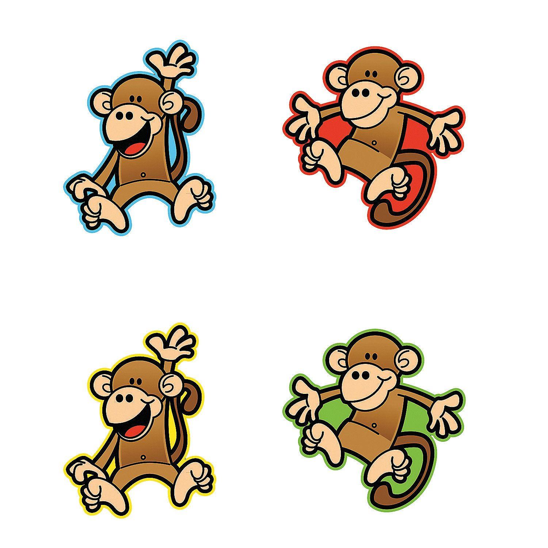 Monkey Bulletin Board Cutouts
