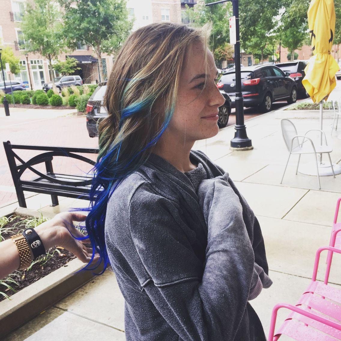 Mias Blue By Natty Jackson At Bombshell Salon Richmond Va Hair