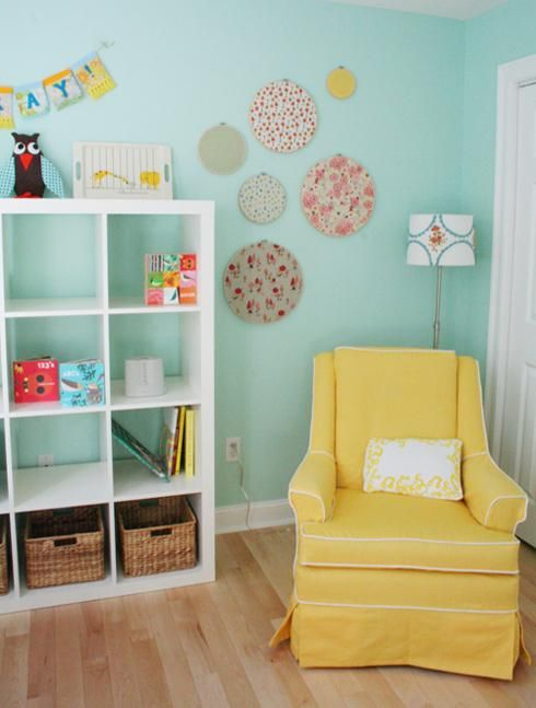 Chambre D Enfant Jaune Et Bleu Deco Chambre Enfant