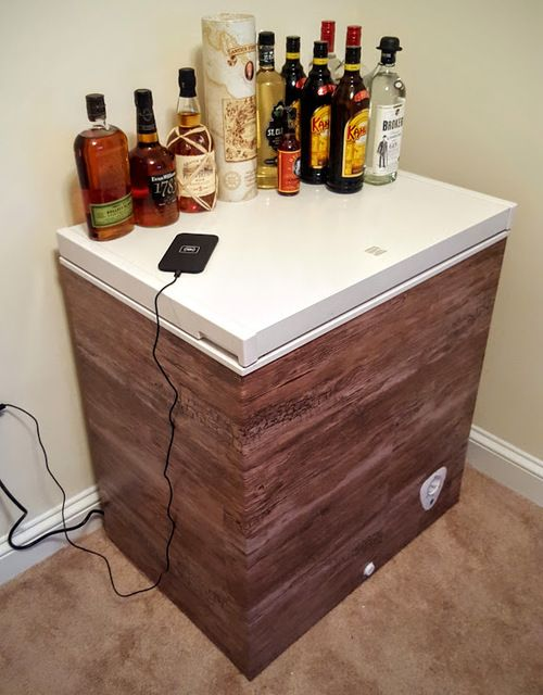 Inexpensively Hiding A Chest Freezer In Plain Sight