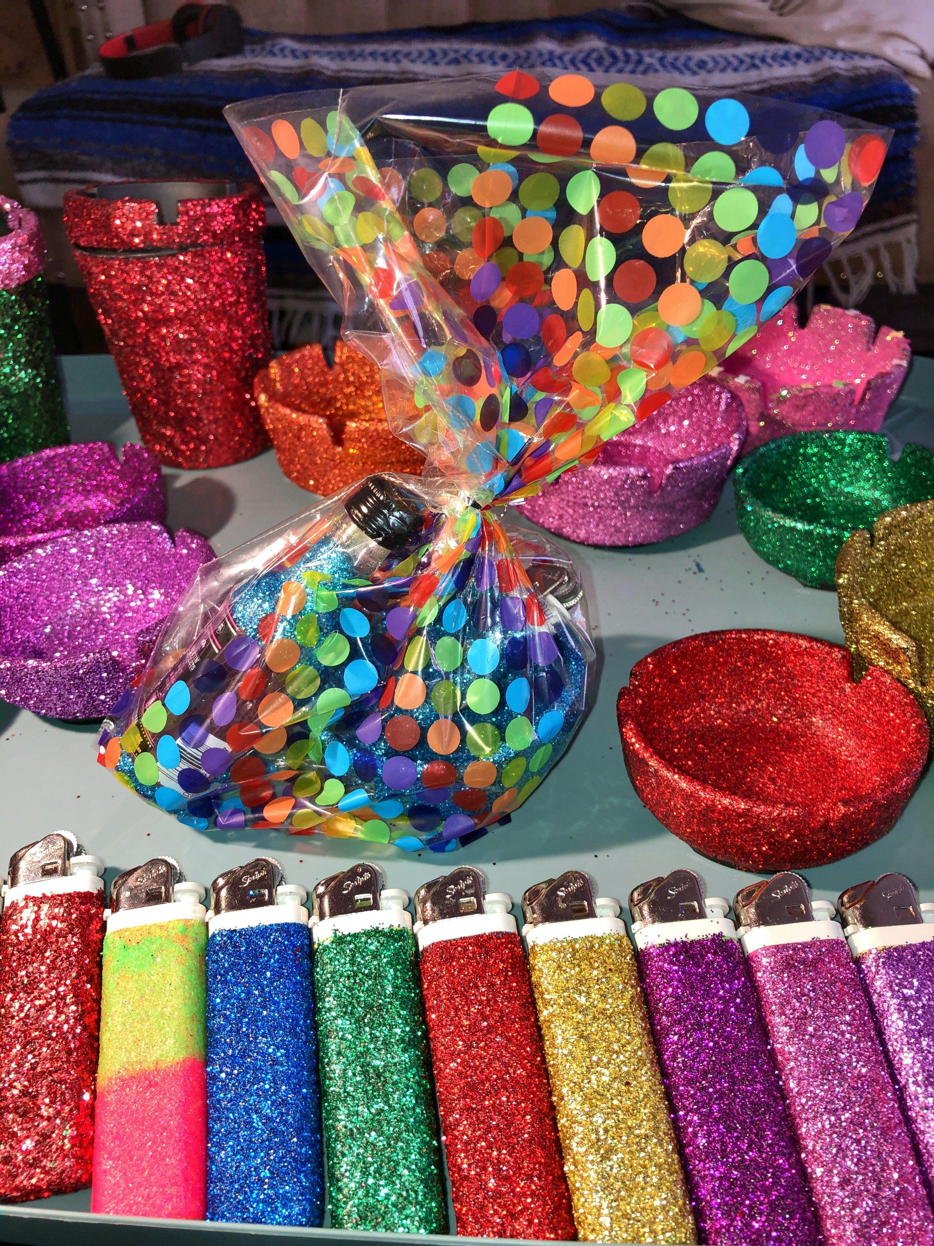 Diy Glitter Ligther Glitter Diy Diy And Crafts Diy
