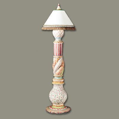 Wallcourt floor lamp from mackenzie childs ltd