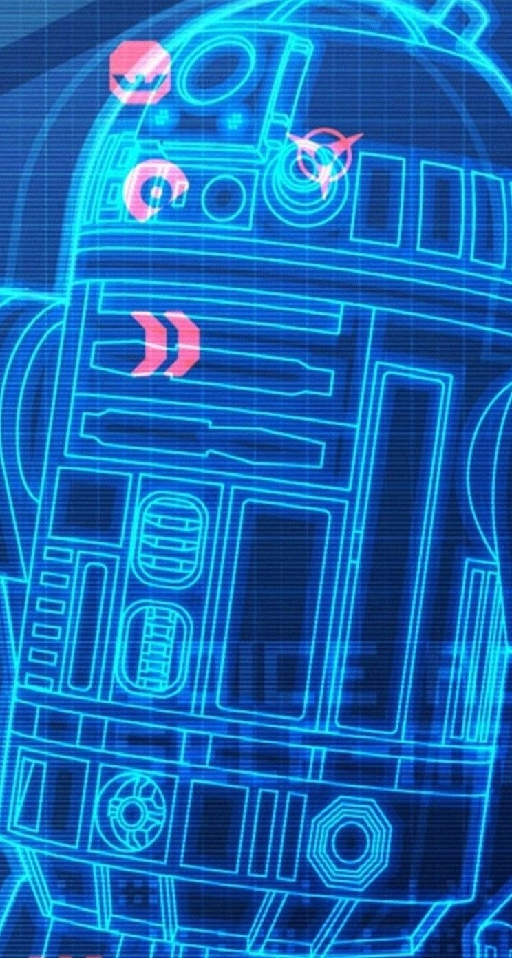 R2 D2 スターウォーズのスマホ壁紙 スターウォーズ壁紙iphone