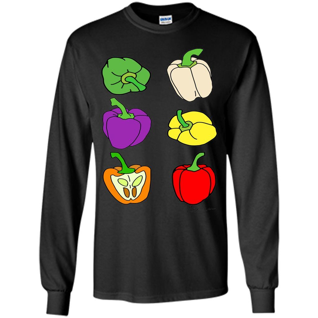 Colourful Bell Peppers T-Shirt