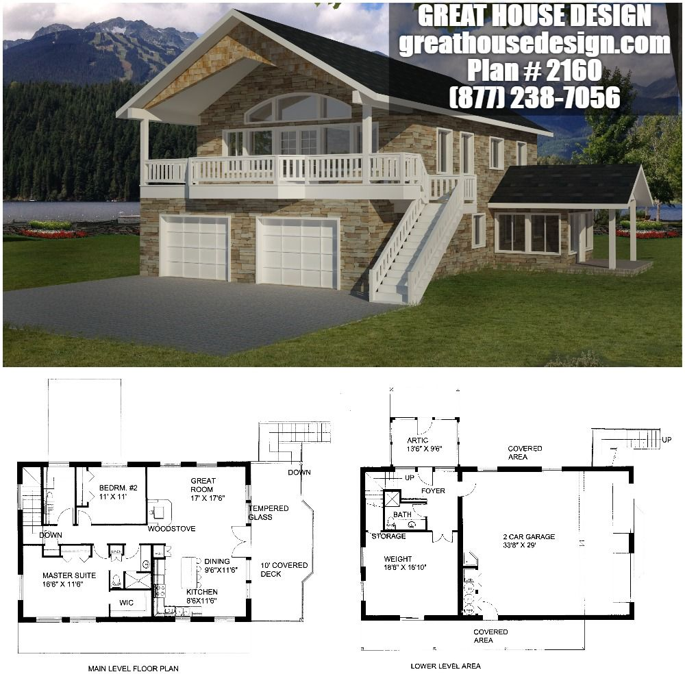 ICF Garage Apartment Plan # 2160 Toll Free: (877) 238-7056 ...