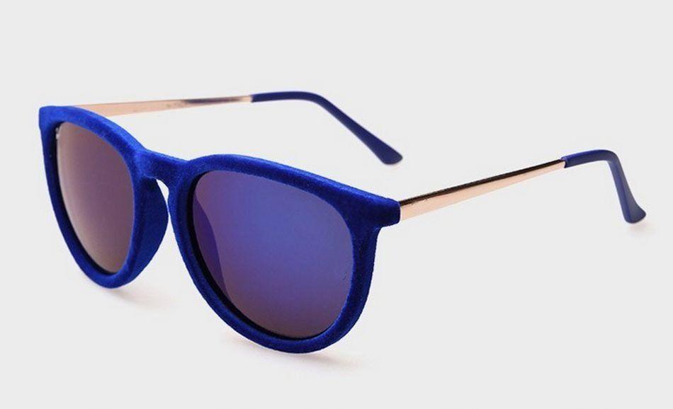 Oculos De Veludo 7 Cores Oculos Redondo Vintage Oculos De Sol