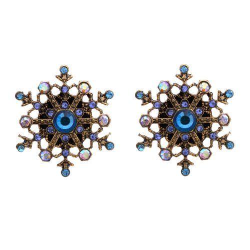 Betsey Johnson Sparkle Snowflake Earrings Betsey Johnson,http://www.amazon.com/dp/B00DMVRXE0/ref=cm_sw_r_pi_dp_j9CAsb14PMENA15K