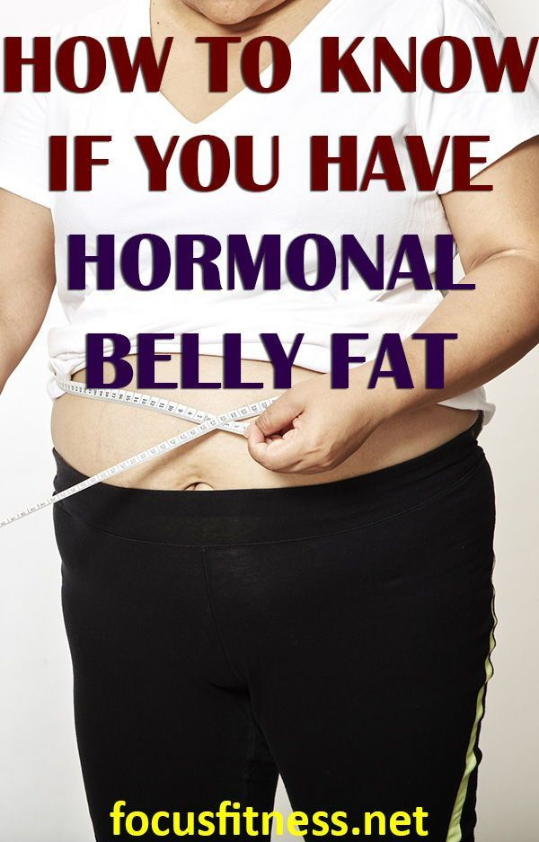 10 Warning Signs Hormones Are Making You Gain Belly Fat -4172