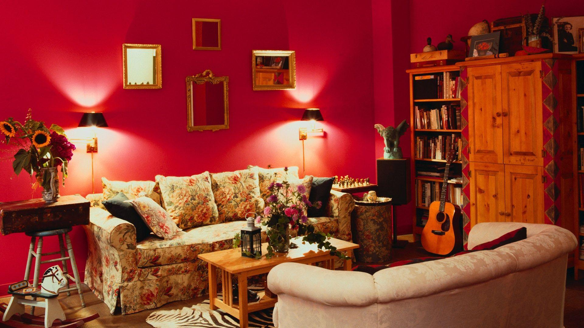 Download Wallpaper 1920x1080 Room Walls Furniture Interior Full Hd 1080p Hd Background