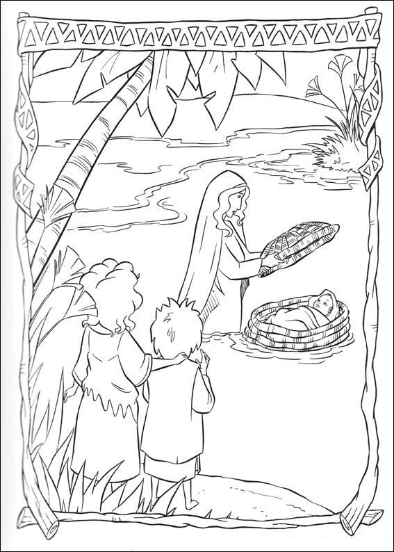 Aussetzung des Mose im Nil | AT_Moses | Pinterest | die Bibel ...