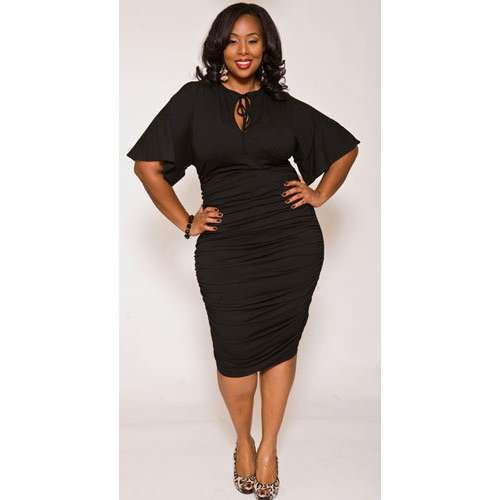 Plus size black dresses – Black plus size women – Monif C Nelli ...
