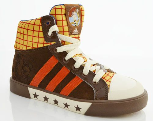 Adidas Toy Story Disney Size 2 New Authentic Shoes 1 5 UK Older Boy's  Leather |