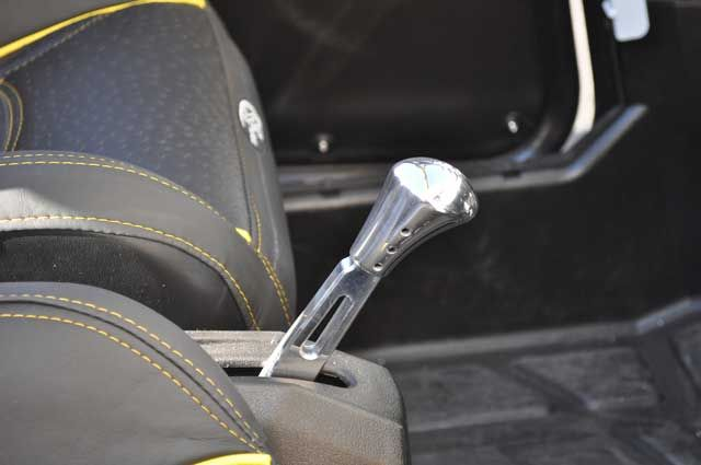 Atv Shift Knobs : Polaris rzr shifter with billet shift knob click image