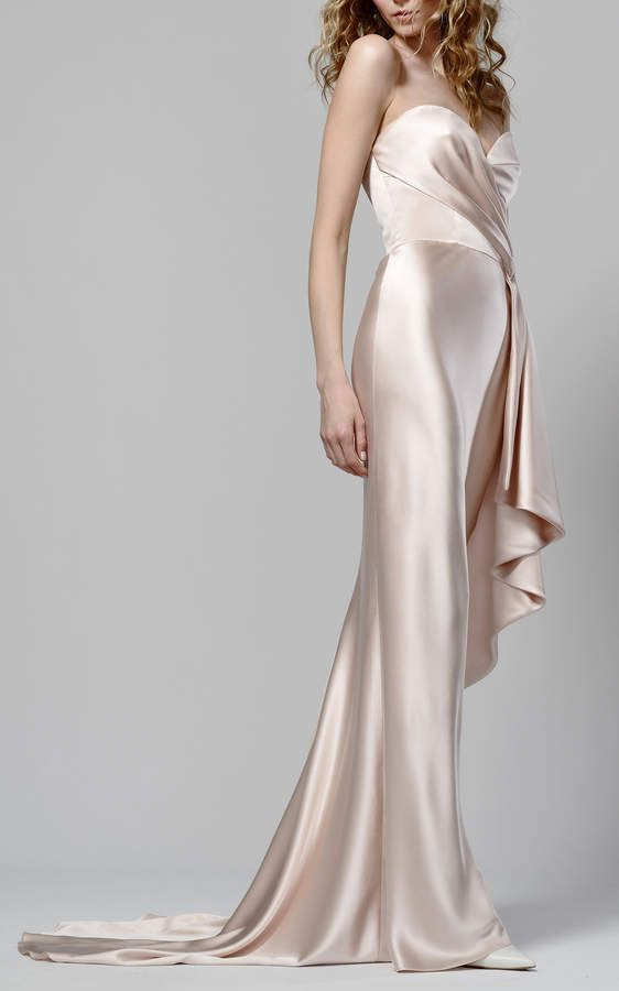 b71b85799a5 Elizabeth Fillmore Blair Strapless Gown
