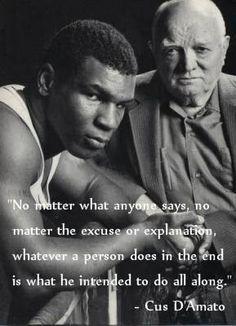 Mike Tyson & Cus D'Amato -- Excuses