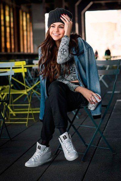 Selena Gomez Adidas NEO 2014 FallWinter Collection | Selena