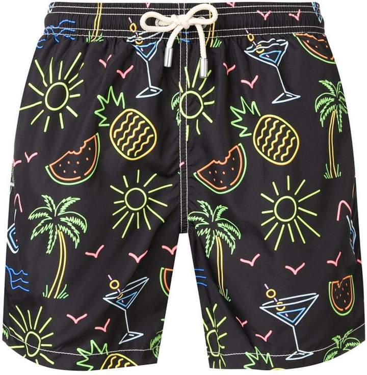 6a2d139509 MC2 Saint Barth tropical print swim shorts in 2019 | Lax stuff ...