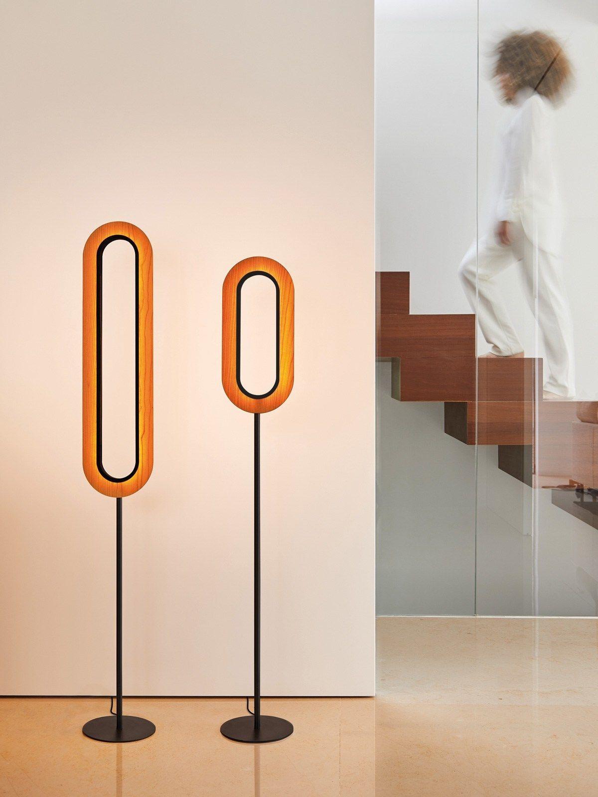 Lens F Stehlampe Holz Lampen Und Leuchten Und Spanisches Design
