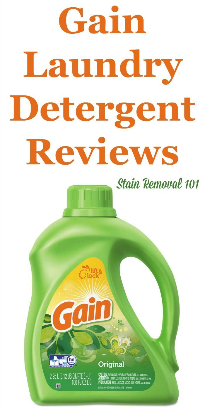 Gain Laundry Detergent Reviews Ratings And Information Laundry