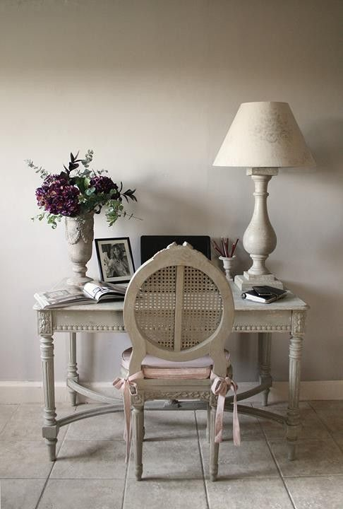 Vintage French Soul ~ 15 French Country Home Office Décor Ideas